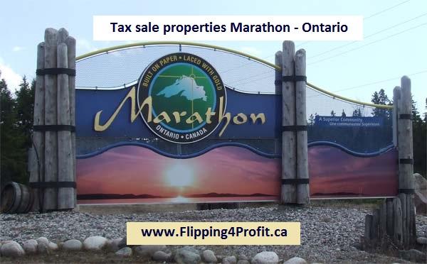 Tax sale properties Marathon - Ontario