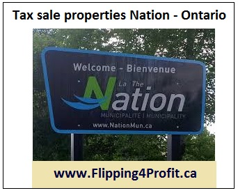Tax sale properties Nation - Ontario