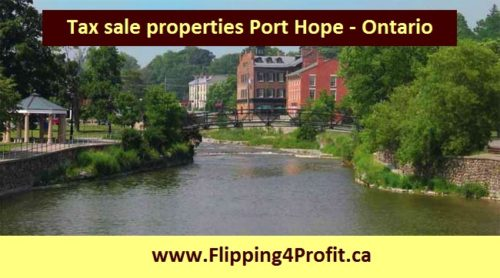 Tax sale properties Port Hope - Ontario