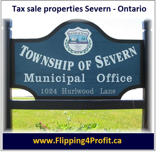 Tax sale properties Severn - Ontario