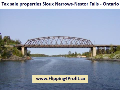 Tax sale properties Sioux Narrows-Nestor Falls - Ontario