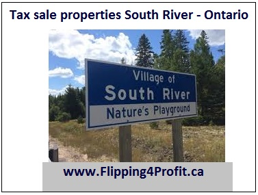 Tax sale properties South River - Ontario