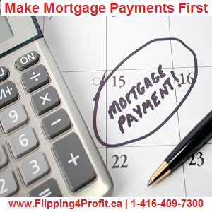 Missing mortgage payment in Canada