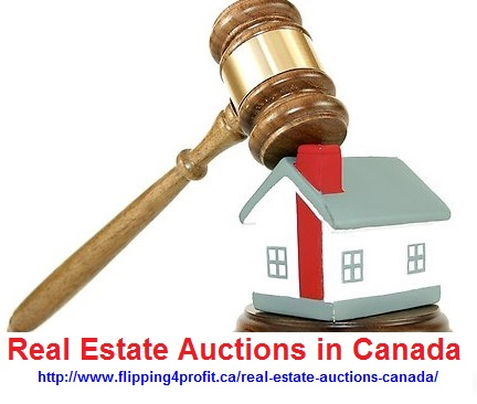 Real Estate auctions in Canada