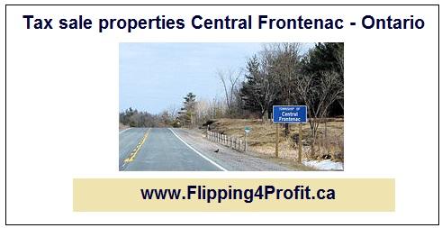 Tax sale properties Central Frontenac - Ontario