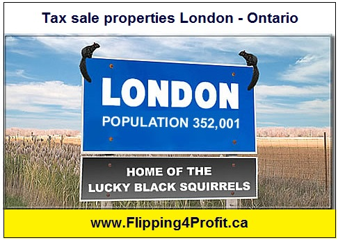 Tax sale properties London - Ontario