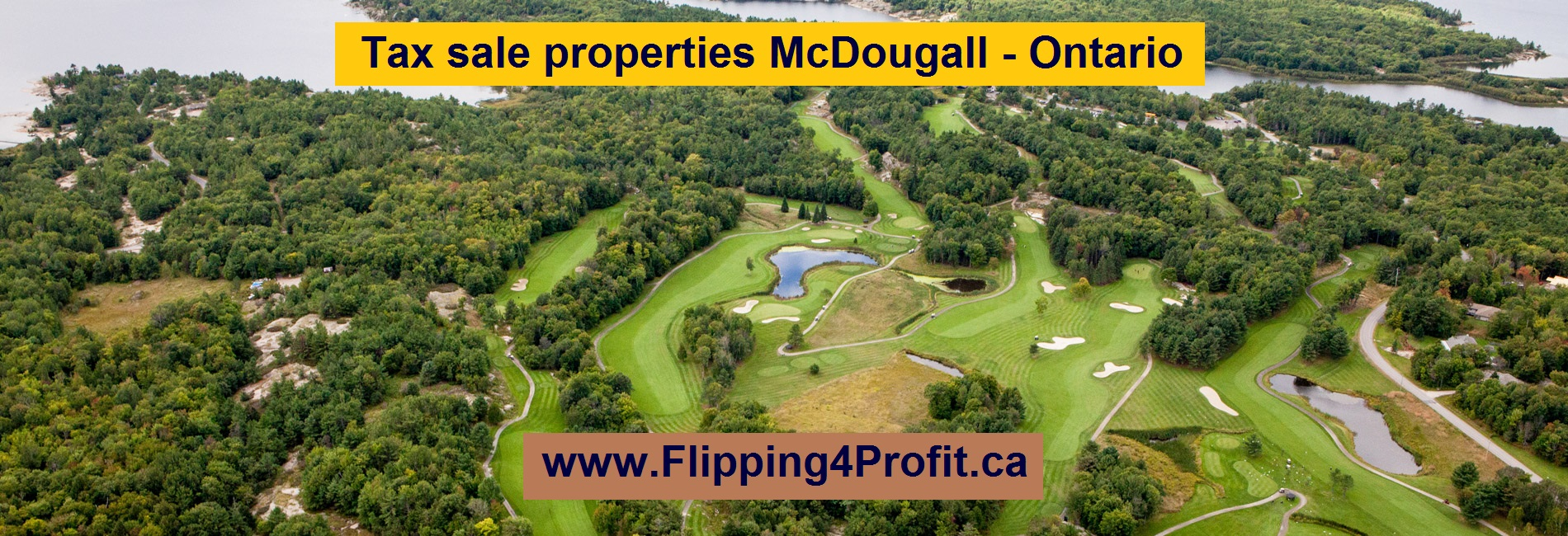 Tax sale propeties McDougall - Ontario