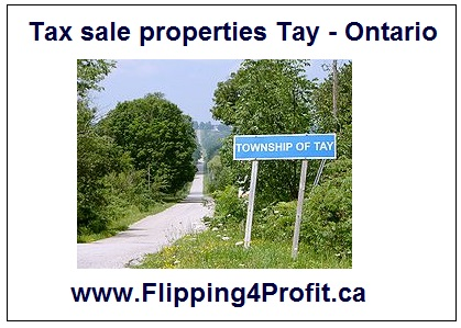 Tax sale properties Tay - Ontario