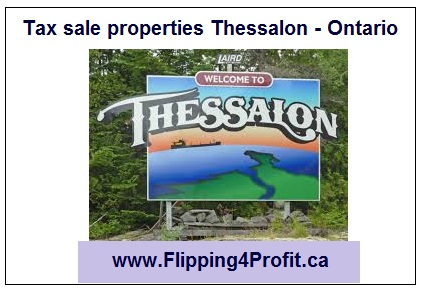 Tax sale properties Thessalon - Ontario