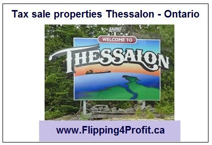 Tax sale properties Thessalon - Ontario