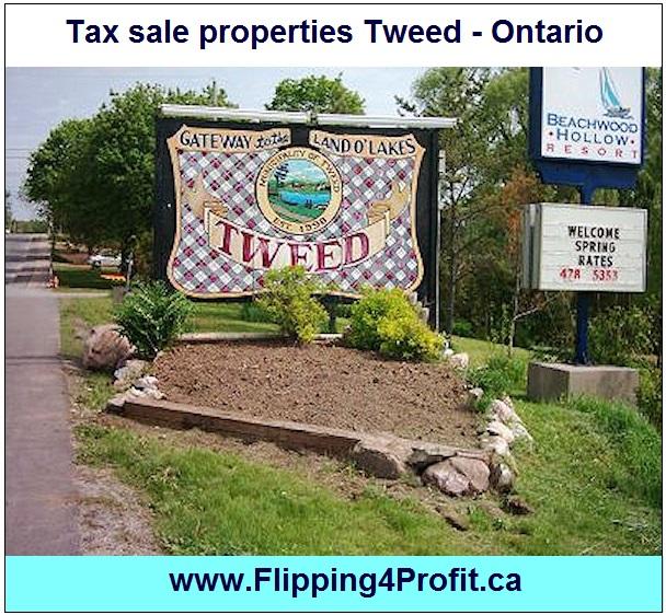 Tax sale properties Tweed - Ontario