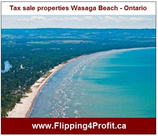 Tax sale properties Wasaga Beach - Ontario