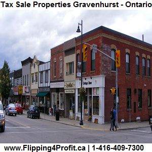 Tax Sale Properties Gravenhurst-Ontario