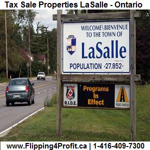 Tax Sale Properties LaSalle-Ontario Canada