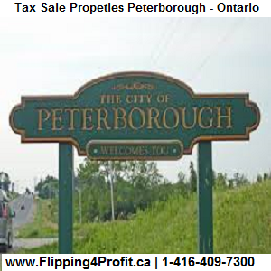Tax Sale Properties Peterborough-Ontario