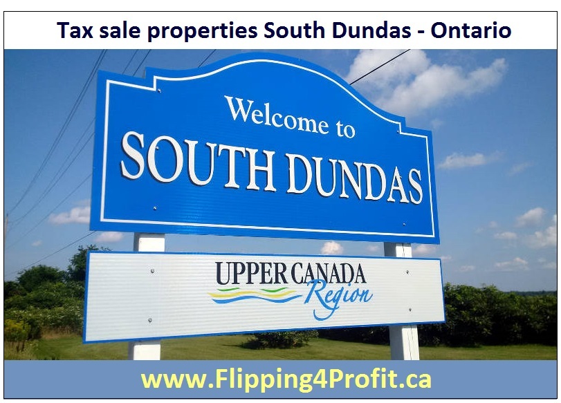 Tax Sale Properties South Dundas-Ontario