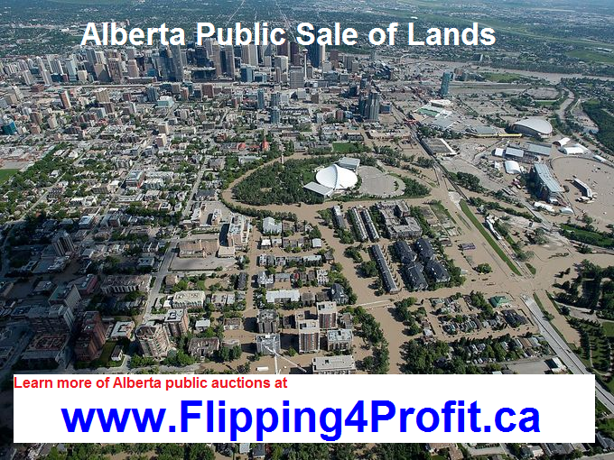 Public Sale of Land, City of Cold Lake, Alberta, Canada