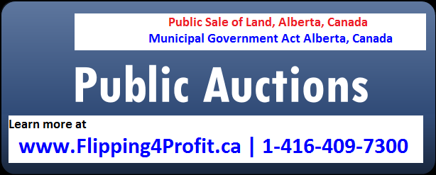 Alberta Public Sale of Land Camrose