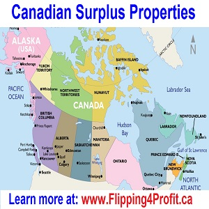 Buy Map Of Canada.How To Buy Surplus Federal Property In Canada Flipping4profit Ca