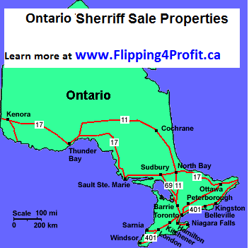 Sheriff's Sales of Lands 49 Kane Av, Toronto Ont