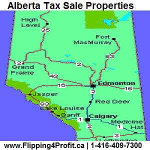 Alberta Tax Sale Properties