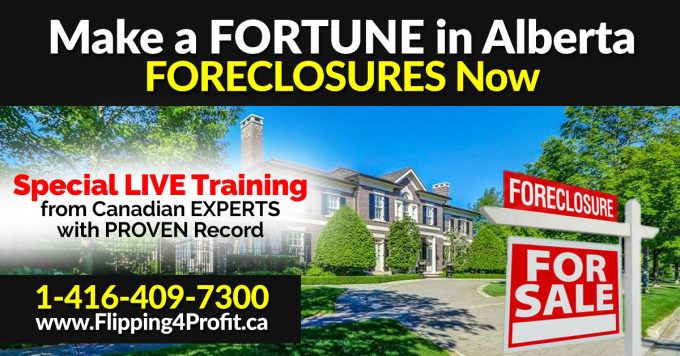 Foreclosures in Alberta up about 25%