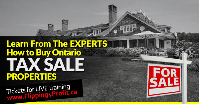 Ontario tax sale properties Huntsville