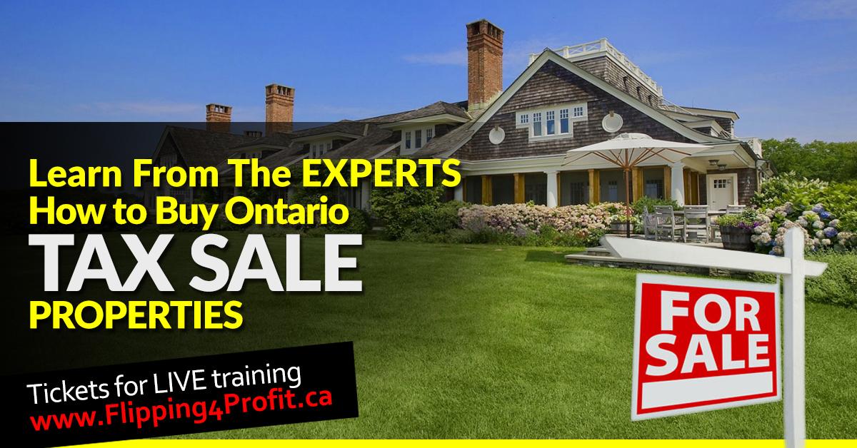 Tax sale properties Markham - Ontario
